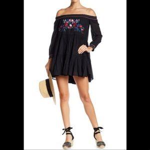 NWT- Free People Sunbeams Mini Dress
